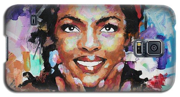 Lauryn Hill Galaxy S5 Case by Richard Day