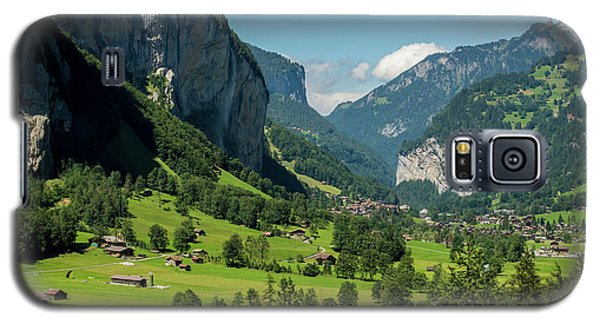 Galaxy S5 Case featuring the photograph Lauterbrunnen Mountain Valley - Swiss Alps - Switzerland by Gary Whitton