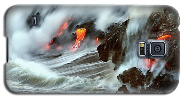 Lava And Ocean Galaxy S5 Case