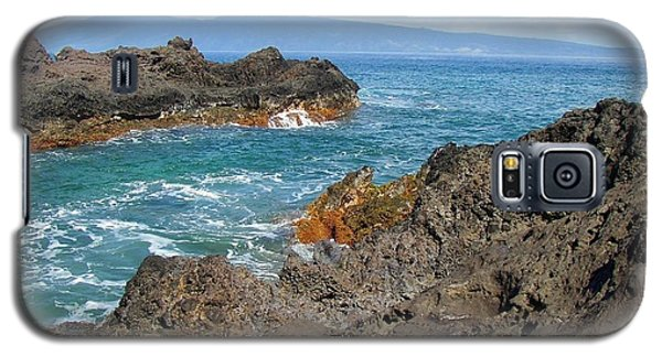Lava Coastline - West Maui Galaxy S5 Case by Glenn McCarthy Art and Photography