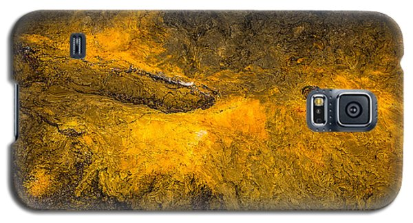 Galaxy S5 Case featuring the photograph Lava by M G Whittingham