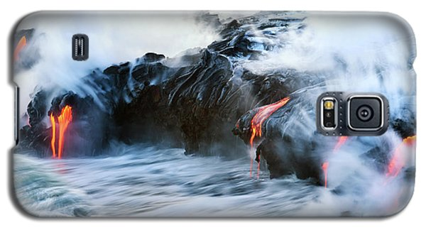 Lava Flow Galaxy S5 Case