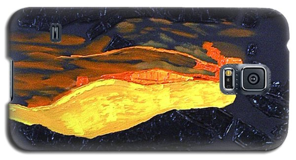 Lava Flow Galaxy S5 Case by Karen Nicholson