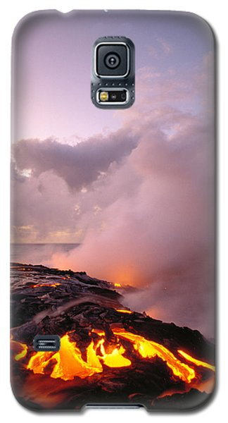 Lava Flows At Sunrise Galaxy S5 Case by Peter French - Printscapes