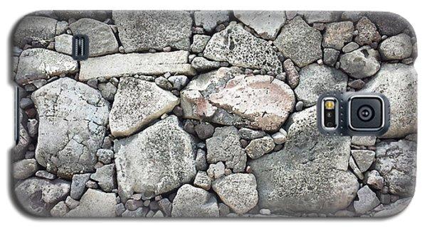 Lava Rock Wall 3 Galaxy S5 Case