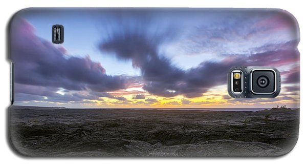 Galaxy S5 Case featuring the photograph Lava Twilight by Ryan Manuel
