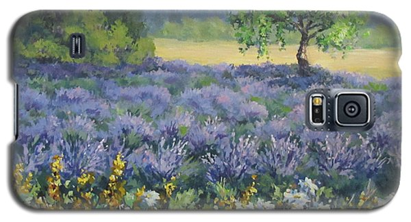 Lavender And Wildflowers Galaxy S5 Case