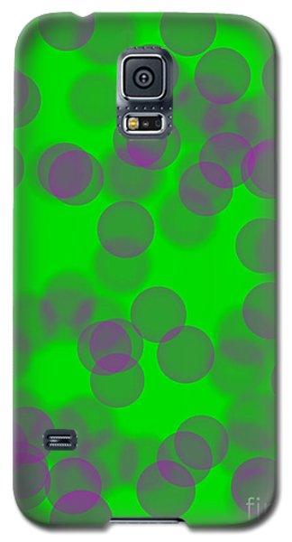 Lavender Bokeh Galaxy S5 Case