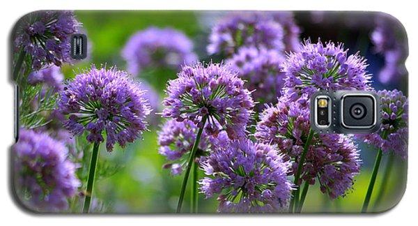 Lavender Breeze Galaxy S5 Case by Linda Mishler