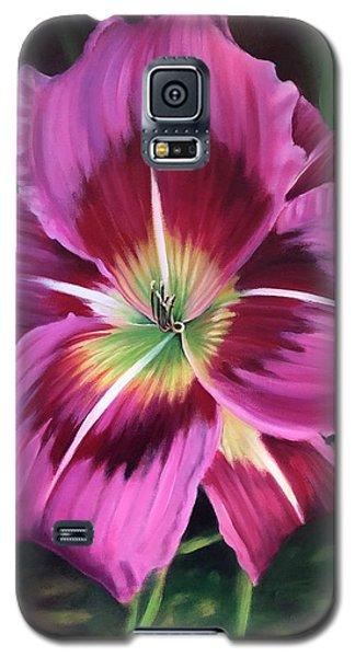 Lavender Daylily Galaxy S5 Case