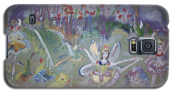 Lavender Fairies Galaxy S5 Case by Judith Desrosiers
