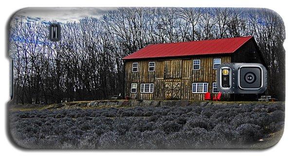 Lavender Farm Galaxy S5 Case