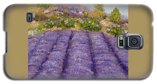 Lavender Field Galaxy S5 Case by Judith Rhue