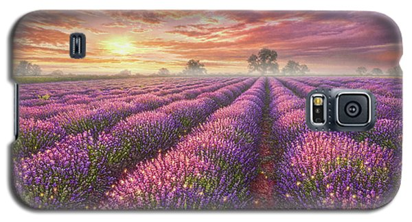Mouse Galaxy S5 Case - Lavender Field by Phil Jaeger