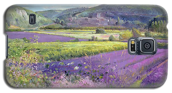Lavender Fields In Old Provence Galaxy S5 Case by Timothy Easton