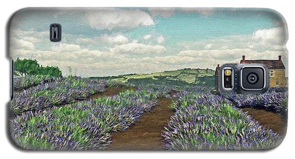 Lavender Fields Galaxy S5 Case