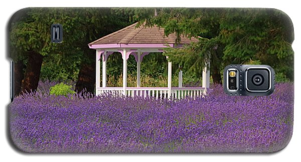 Lavender Gazebo Galaxy S5 Case