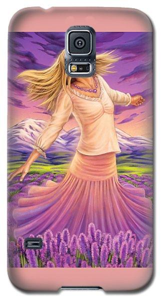 Lavender - Heal Through Joy Galaxy S5 Case