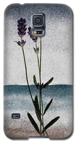 Lavender Ocean Breath Galaxy S5 Case