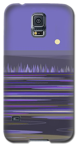 Lavender Reflections Galaxy S5 Case by Val Arie