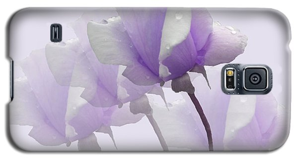 Lavender Roses  Galaxy S5 Case by Rosalie Scanlon