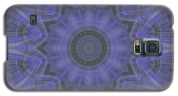Lavender Twirl Kaleido Galaxy S5 Case