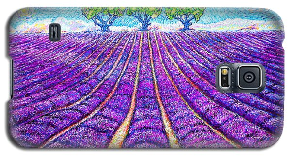 Lavender Galaxy S5 Case by Viktor Lazarev