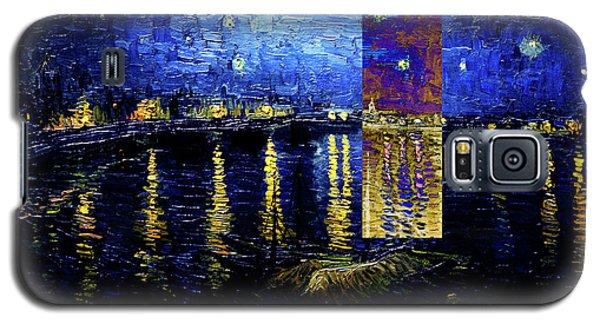 Layered 15 Van Gogh Galaxy S5 Case