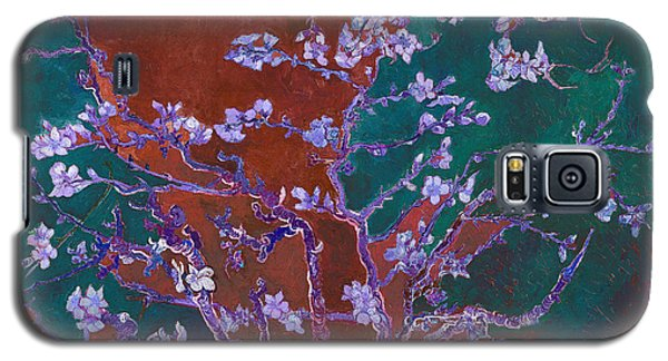 Layered 2 Van Gogh Galaxy S5 Case by David Bridburg