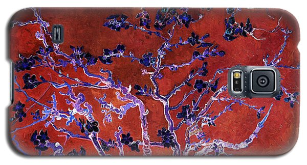 Layered 9 Van Gogh Galaxy S5 Case by David Bridburg