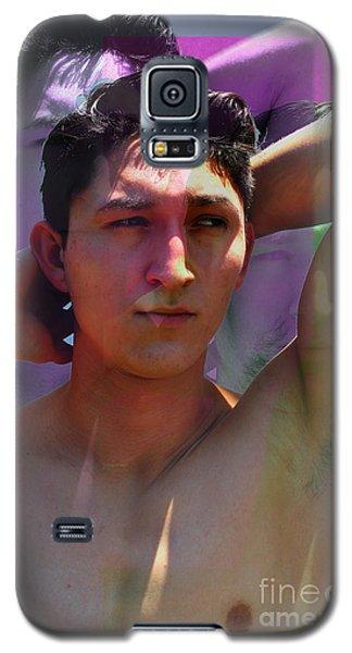 Layered Portrait Galaxy S5 Case