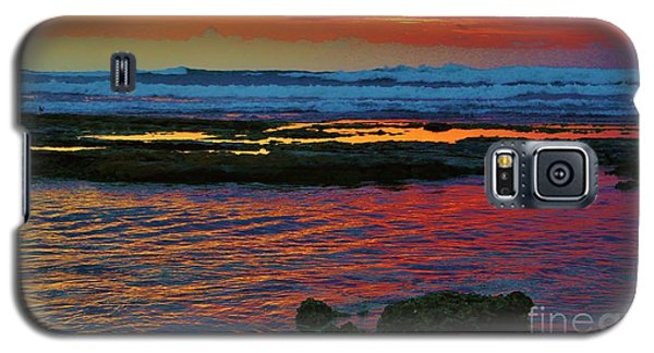 Layered Sunset Galaxy S5 Case