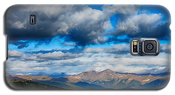 Layers Of Clouds On Mount Evans Galaxy S5 Case