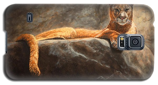 Laying Cougar Galaxy S5 Case