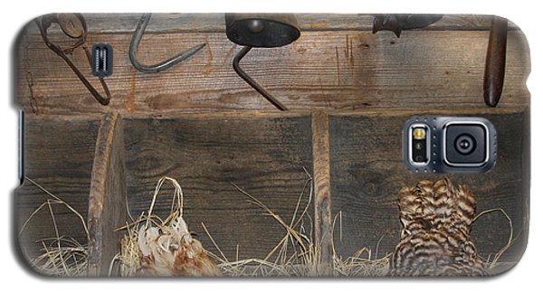 Laying Hens Galaxy S5 Case by Kim Henderson
