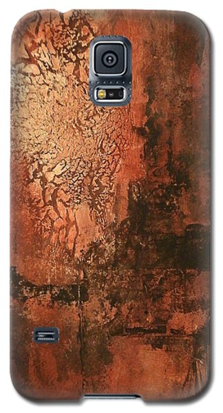 Galaxy S5 Case featuring the painting Lazlow's Ghost by Buck Buchheister