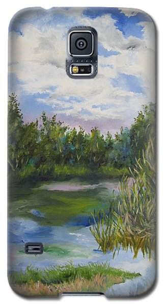 Lazy Afternoon In The Park Galaxy S5 Case by Lisa Boyd