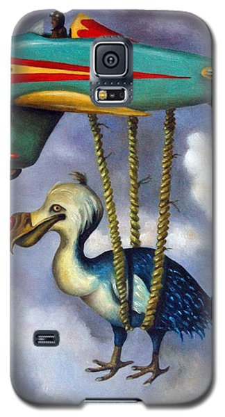 Lazy Bird Galaxy S5 Case by Leah Saulnier The Painting Maniac