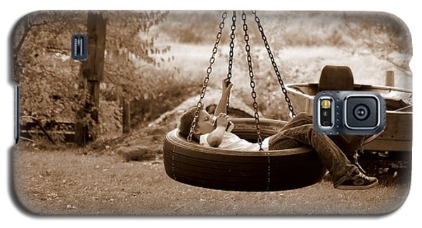 Lazy Days Galaxy S5 Case by Linda Mishler
