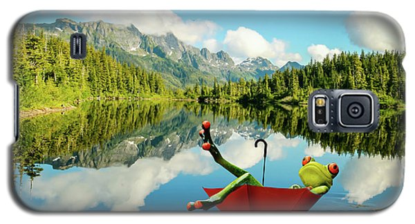 Galaxy S5 Case featuring the digital art Lazy Days by Nathan Wright
