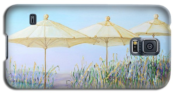 Galaxy S5 Case featuring the painting Lazy Days Of Summer by Barbara Anna Knauf