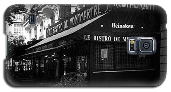 Instago Galaxy S5 Case - Le Bistro De Montmartre  #travel by Georgia Fowler
