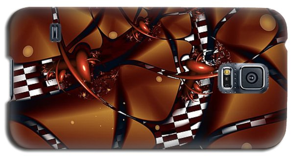 Galaxy S5 Case featuring the digital art Le Chocolatier by Michelle H