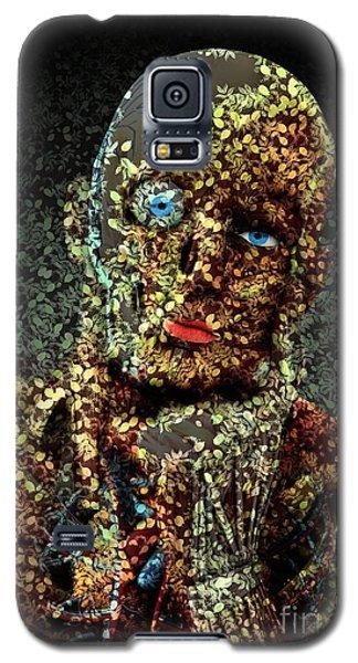 Galaxy S5 Case featuring the digital art Le Penseur  by Aimelle