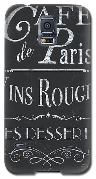 Galaxy S5 Case featuring the painting Le Petite Bistro 2 by Debbie DeWitt