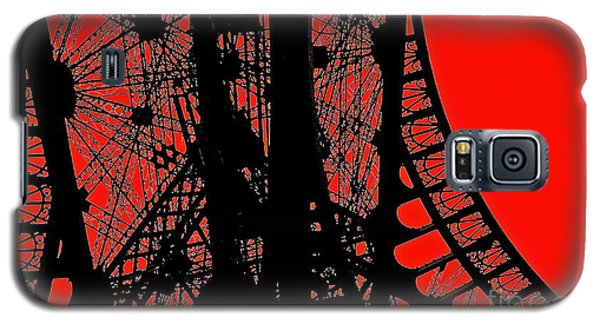 Galaxy S5 Case featuring the photograph Le Rouge Et Le Noir by Danica Radman