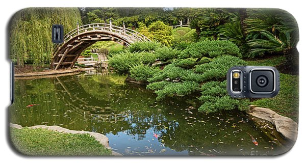 Lead The Way - The Beautiful Japanese Gardens At The Huntington Library With Koi Swimming. Galaxy S5 Case