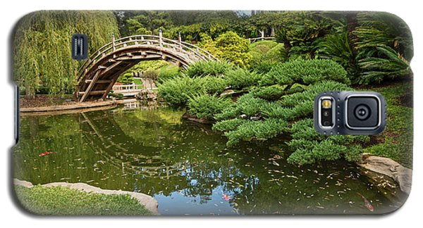 Garden Galaxy S5 Case - Lead The Way - The Beautiful Japanese Gardens At The Huntington Library With Koi Swimming. by Jamie Pham
