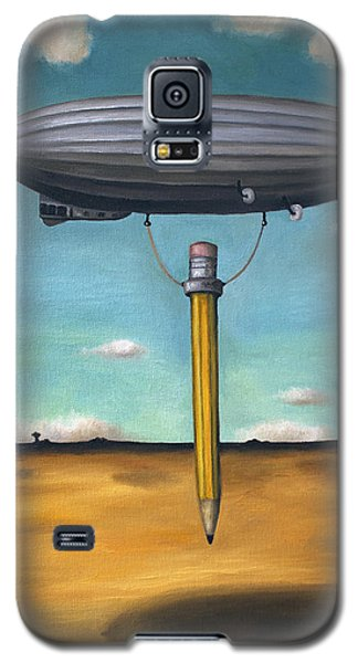 Lead Zeppelin Galaxy S5 Case by Leah Saulnier The Painting Maniac