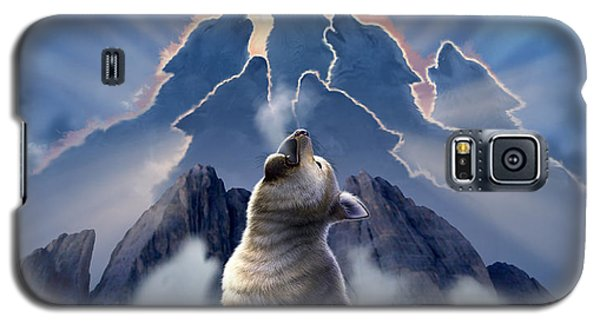 Wildlife Galaxy S5 Case - Leader Of The Pack by Jerry LoFaro